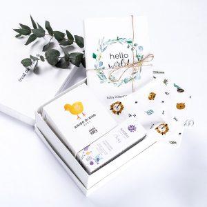 gift box δωράκι για νεογέννητο