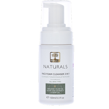 Bioselect Naturals Face Foam Cleanser