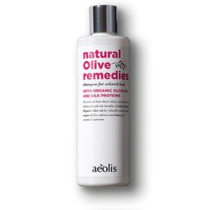 Σαμπουάν Για Βαμμένα Μαλλιά Με Βιολογικό Λάδι Ελιάς & Πρωτεϊνες Μεταξιού