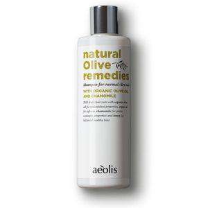 aeolis shampoo organic olive oil and chamomile