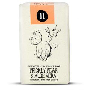 helleo prickly pear and aloe vera handmade soap