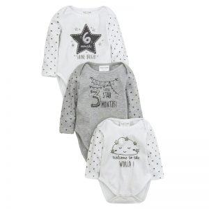baby milestone bodysuits treat the mama
