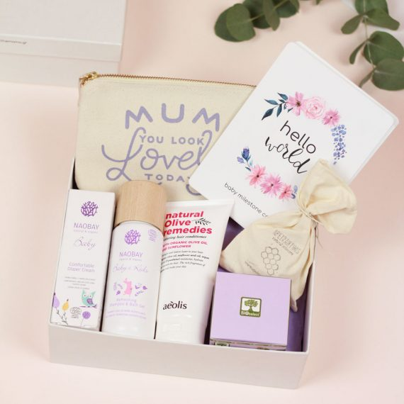 new mama and baby gift box
