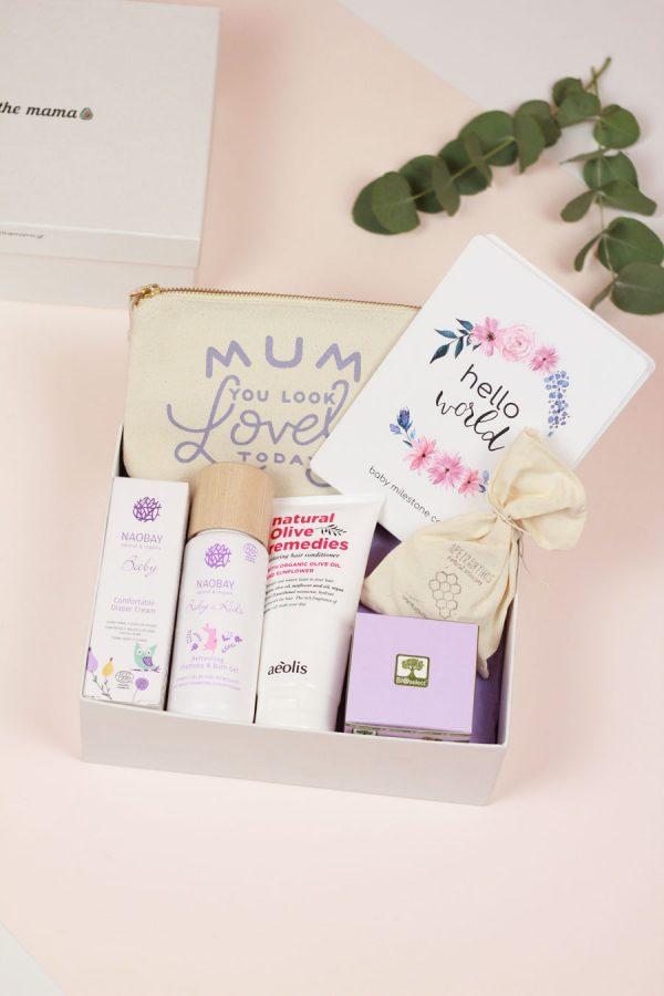new mama and baby gift box