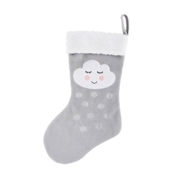 Χριστουγεννιάτικη μπότα συννεφάκι