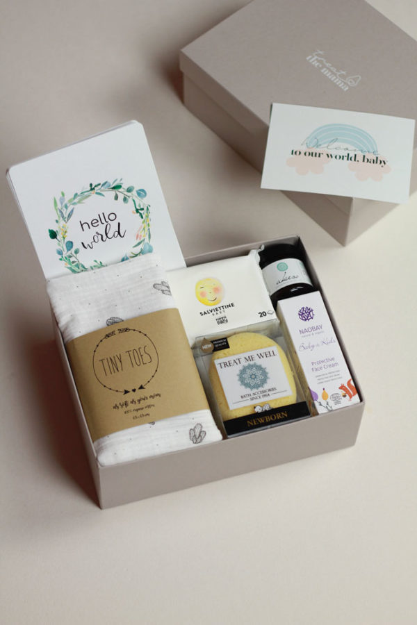 Welcome to our World, baby Gift Box