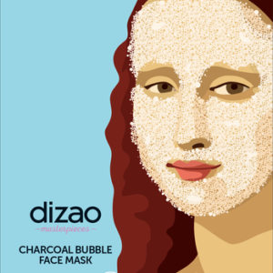 Masterpieces Bubble Mask με Ενεργό Άνθρακα – DIZAO NATURAL