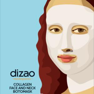 Masterpieces ΒΟΤΟ Μάσκα Κολλαγόνου για Πρόσωπο & Λαιμό – DIZAO NATURAL