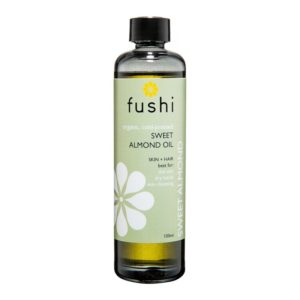 Fushi Organic   Sweet Golden Almond Organic Oil Virgin 100ml, Fresh Pressed