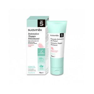 Suavinex Κρέμα Αλλαγής Πάνας για Ερεθισμένο Δέρμα 75 ml