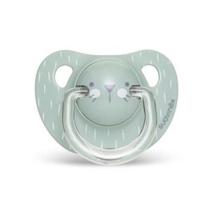 Suavinex Πιπίλα Σιλικόνης Hygge Whiskers Mint (6-18m)