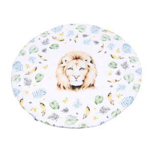 Qbana Mama Χαλάκι Στρογγυλό Lion