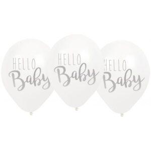 "Jabadabado Μπαλόνια ""Hello Baby"" Γαλάζια"