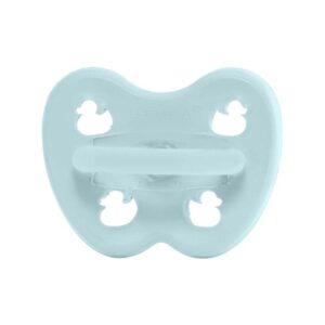 Hevea Ορθοδοντική Πιπίλα Baby Blue (0-3m)