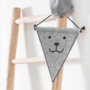 Jollein Διακοσμητικό Σημαιάκι Αρκουδάκι