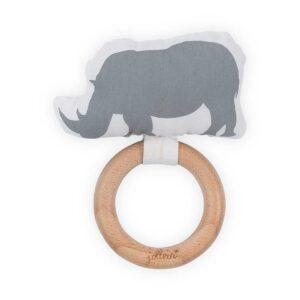 Jollein Μασητικό Κουδουνίστρα Ρινόκερος