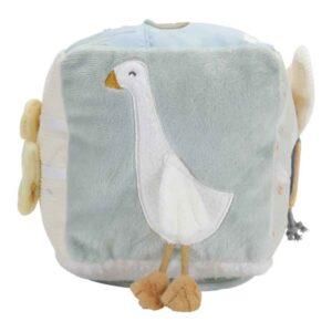 Little Dutch Υφασμάτινος κύβος δραστηριοτήτων Little Goose